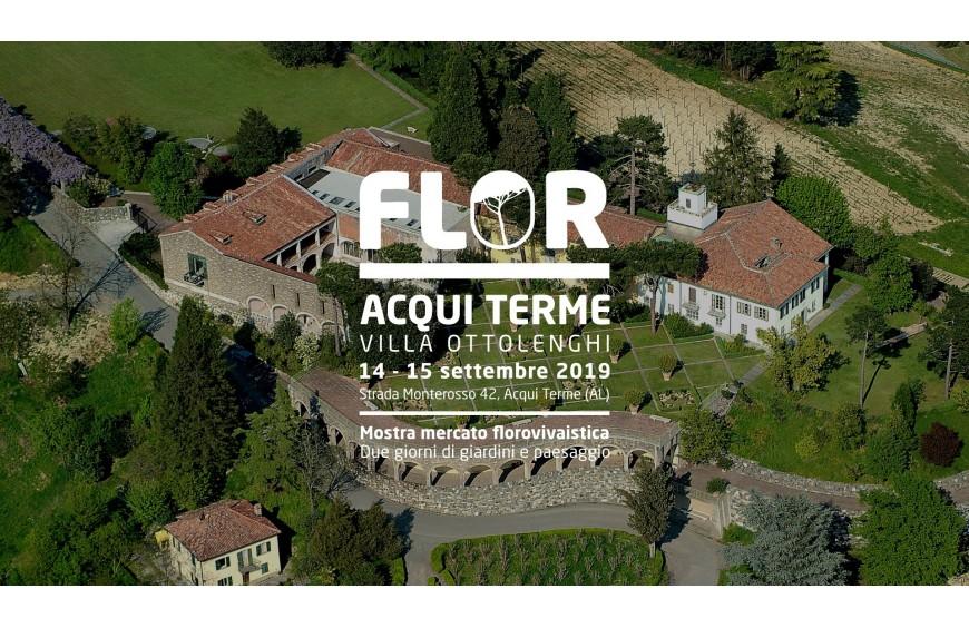 FLORACQUI 2019 // 14 – 15 SETTEMBRE // ACQUI TERME