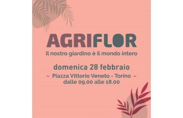 AGRI FLOR // IX edizione 28 febbraio 2021 // Piazza Vittorio - Torino
