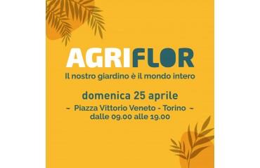 Agriflor domenica 25 aprile Torino